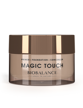 MAGIC TOUCH PRIMER • FOUNDATION • CONCEALER